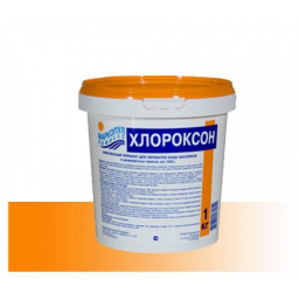 """""""Хлороксон"""" - комплексное средство для бассейнов (дезинфекция, окисление органики, осветление и очистка воды бассейнов хлором)"""