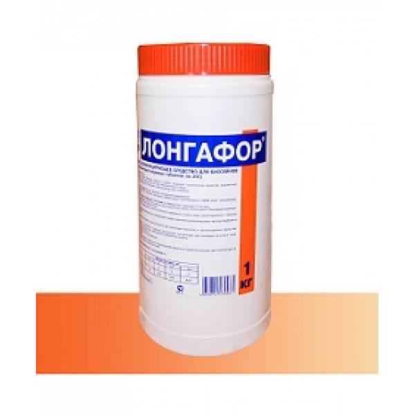 «ЛОНГАФОР» - средство пролонгированного действия для дезинфекции бассейна в таблетках