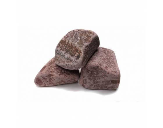 Малиновый кварцит обвалованный 20 кг