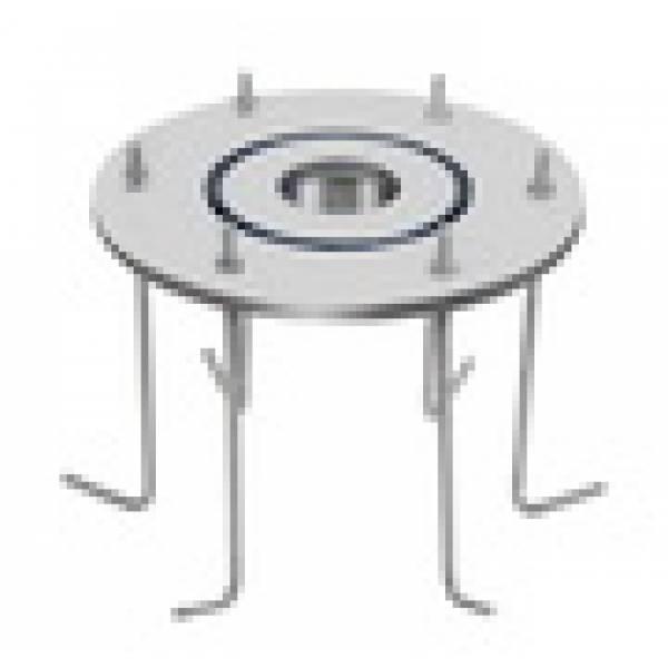 Закладная деталь для монтажа аэромассажного лежака 1013351, бетон, flexinox
